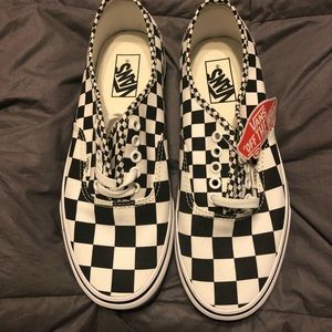 Old School Vans.  Never worn.  Tags but no box.